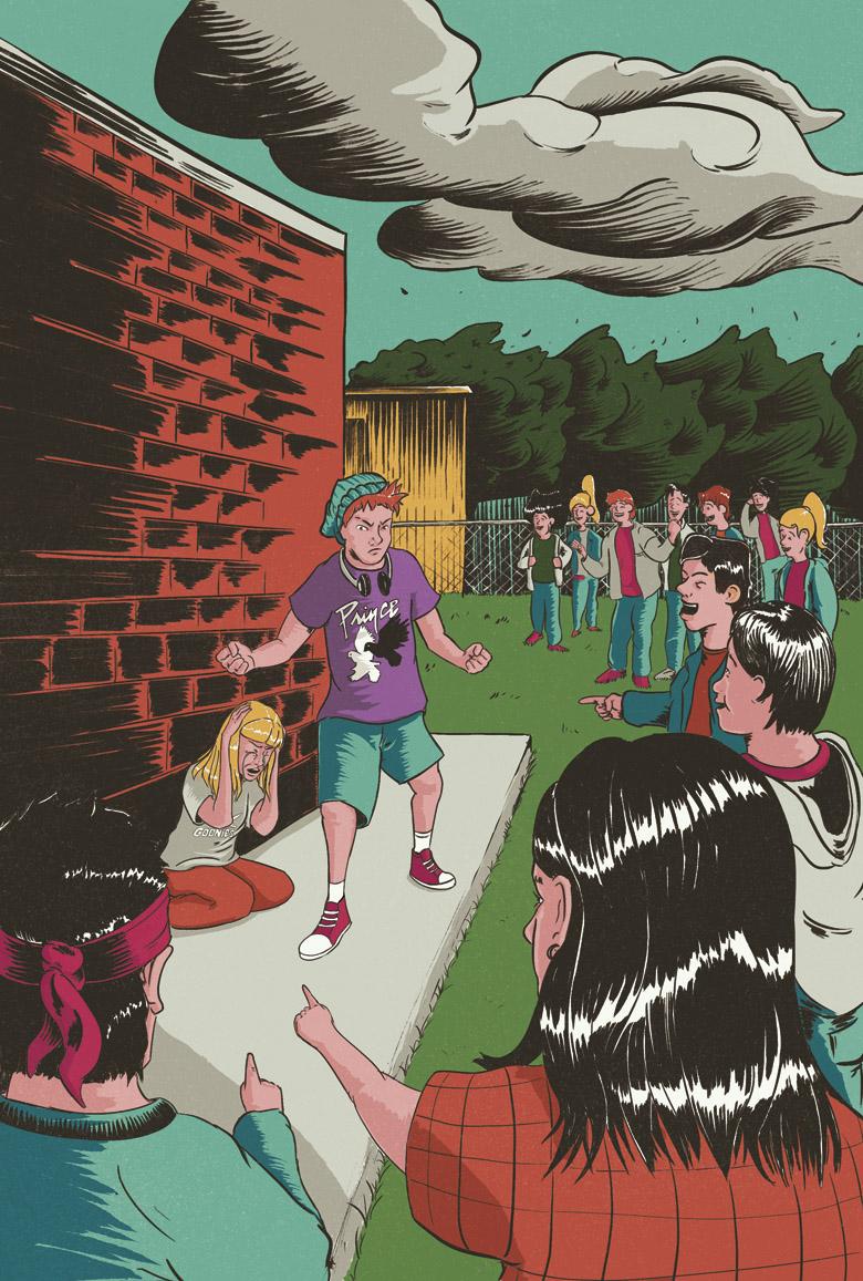 Ilustración para la revista Principia