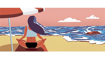 ¿Por qué nos sentimos bien junto al mar?