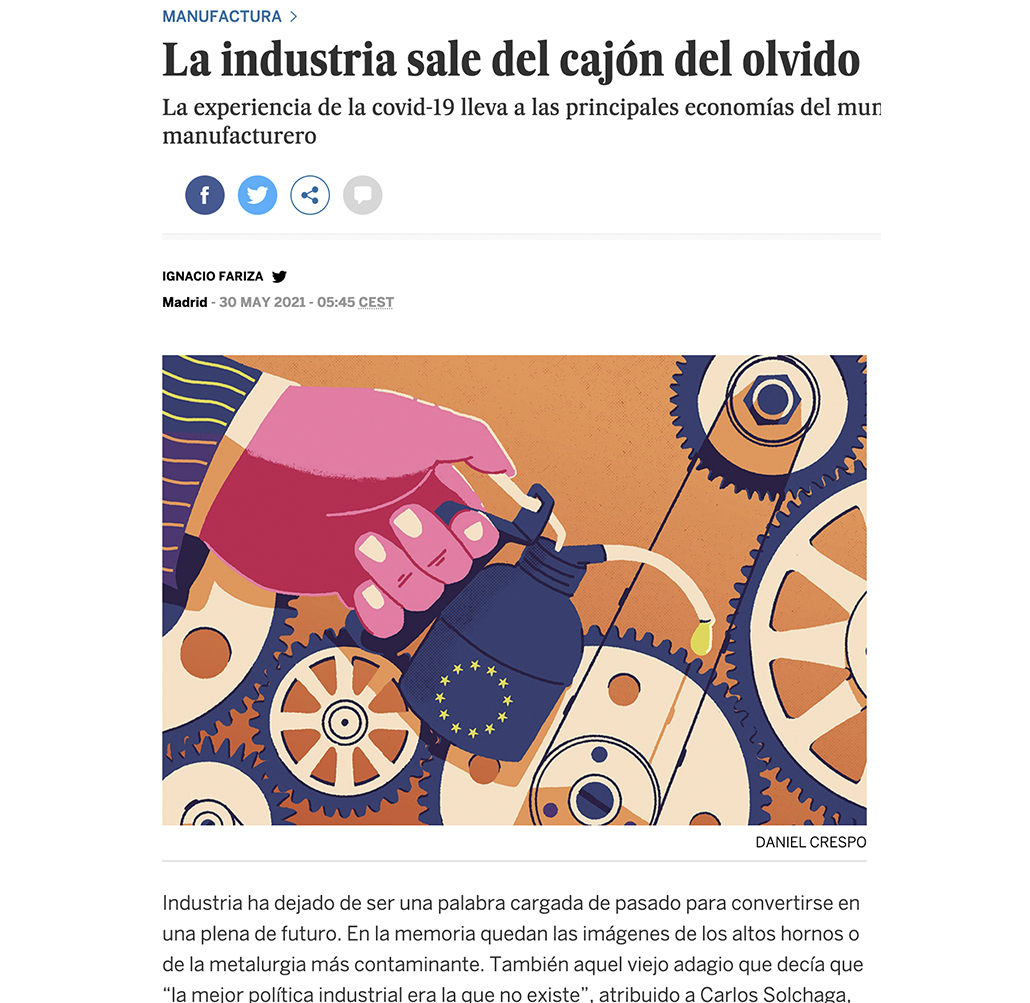 Portada de El País Negocios