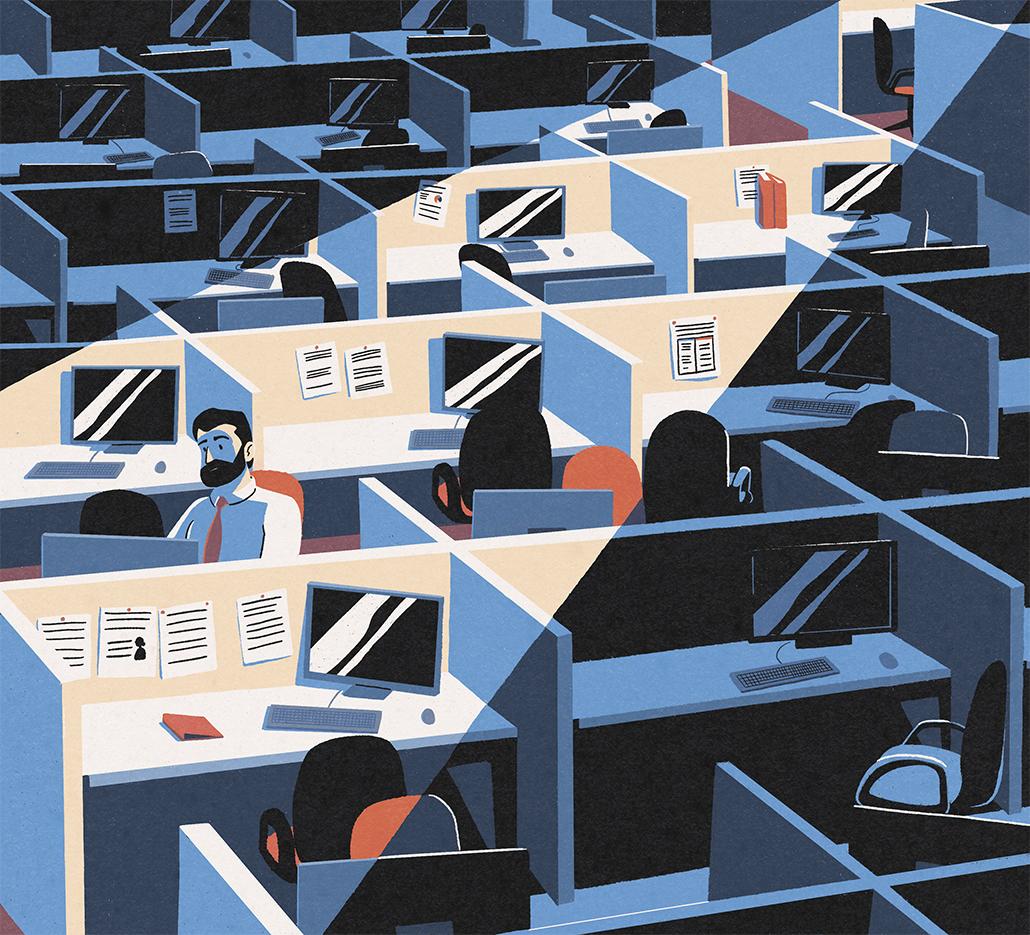 La onda expansiva del teletrabajo zarandea la economía